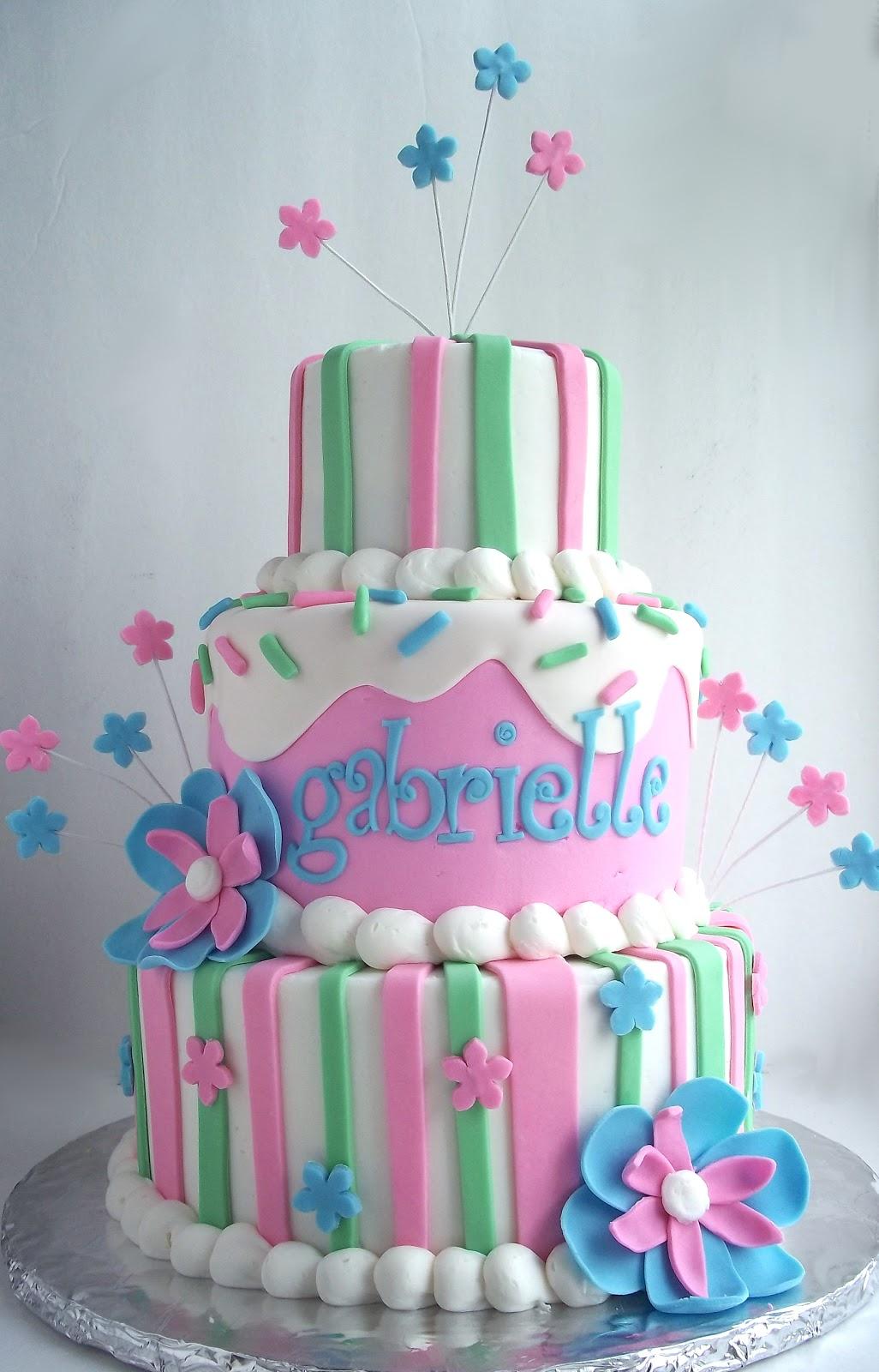 Violet S Custom Cakes Gabrielle
