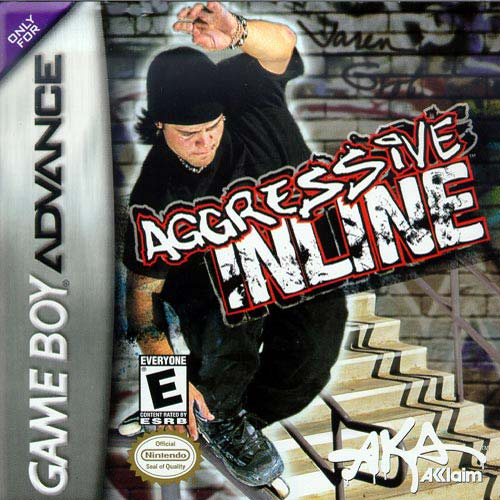 ROMs - Aggressive Inline (Português) - GBA Download