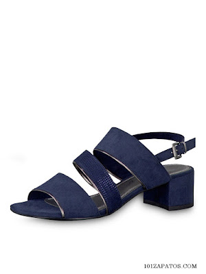Sandalias Color Azul