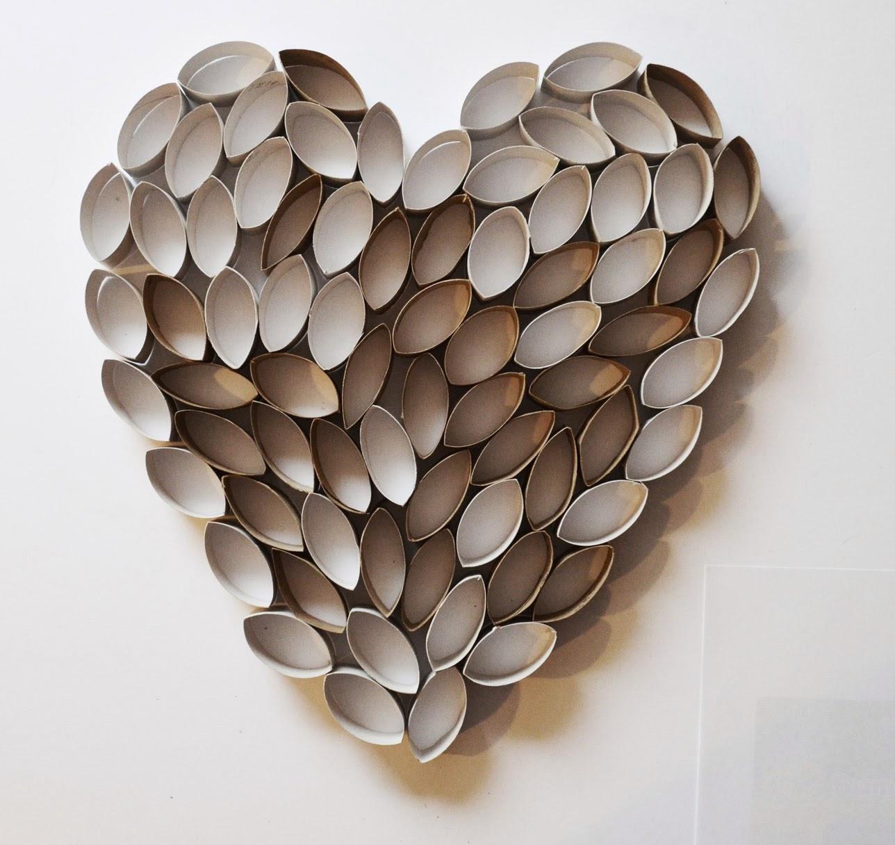 Fantastic WEAFER DESIGN: Paper Towel Craft/Art EI31