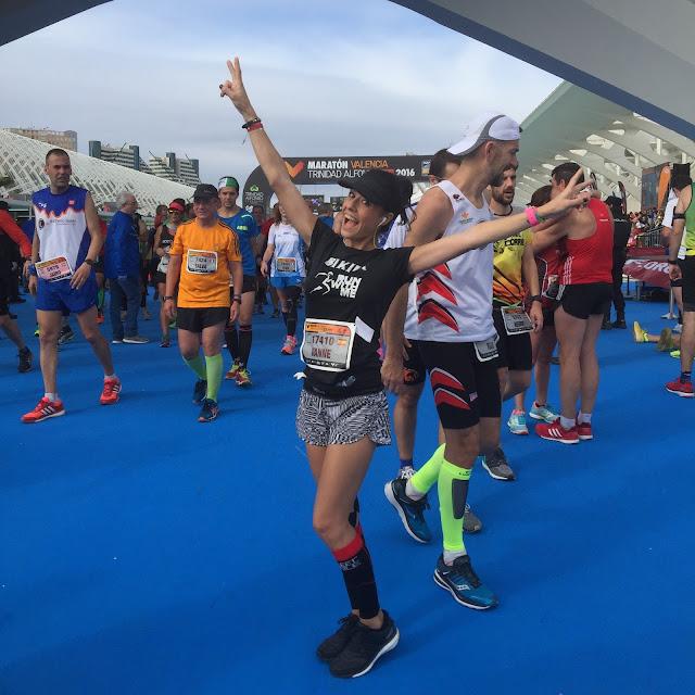 Maratón de Valencia, finisher, Bikila, Mi Diario Runner, motivacion
