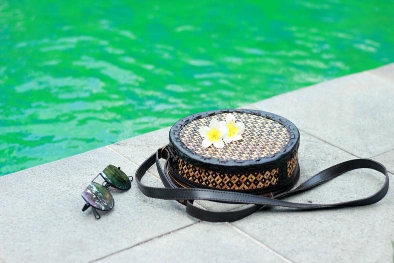 Bali Bag, rattan bag, Circle bag