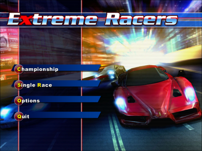 EXTREME RACER Cover Photo