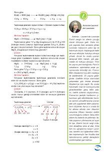 10. Sınıf Kimya Ders Kitabı Cevapları Uygun Basım Yayınları Sayfa 16