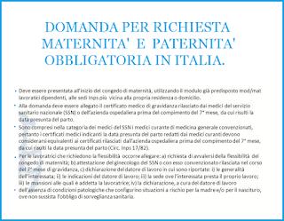 DOMANDA-maternita-donne-LAVORATRICI