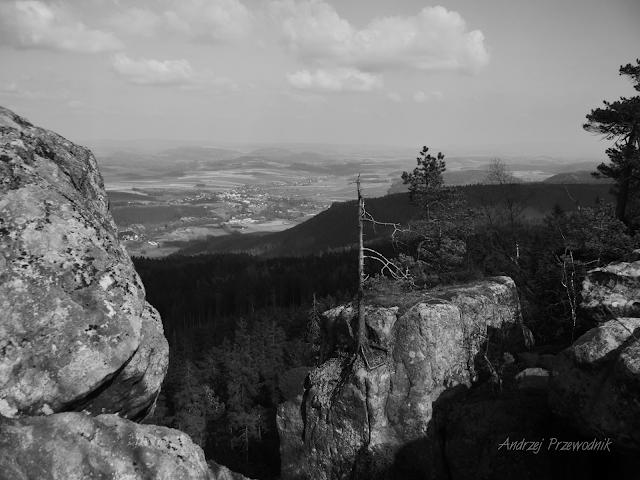 Góry Stołowe, Szczeliniec Wielki, panorama