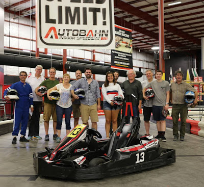 Survey Finds 98 Percent of First-Time Go-Kart Racers Say Professional Drivers Are Athletes