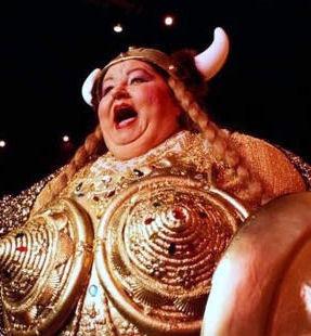 Singing Fat Lady 34