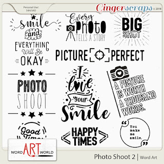 "NEW ""Page Titles"" Word Art + 50% OFF New Releases!"