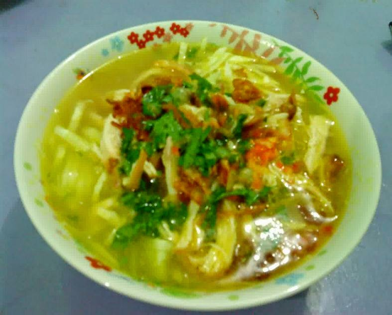 resep soto ayam sederhana