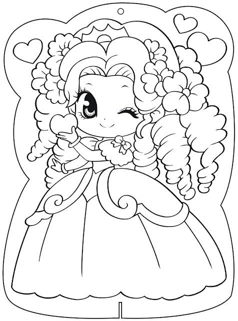 download tranh tô màu công chúa