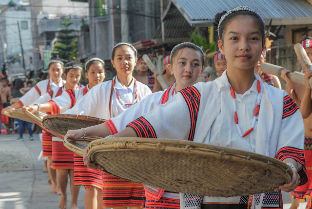 Woven Basket Ladies on Parade