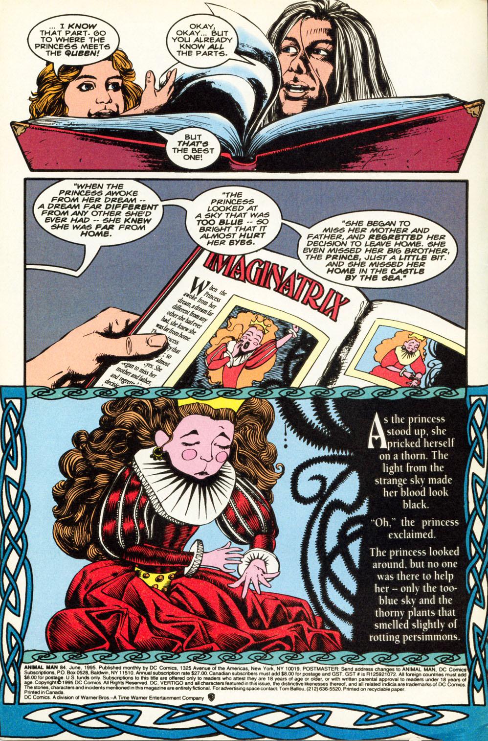 Read online Animal Man (1988) comic -  Issue #84 - 3