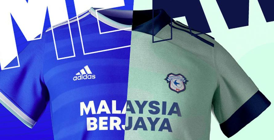 Cardiff City 20-21 Home & Away Kits Released - Footy Headlines