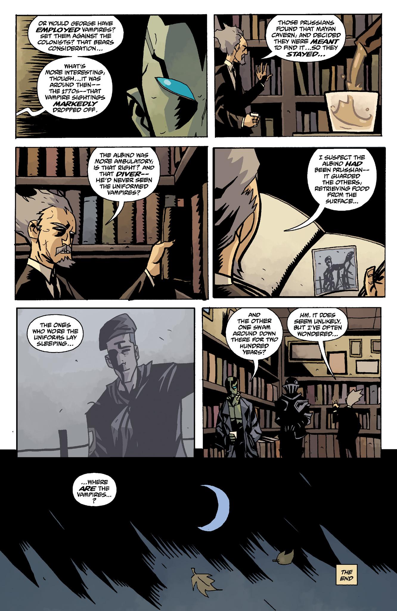Read online Abe Sapien comic -  Issue #8 - 24