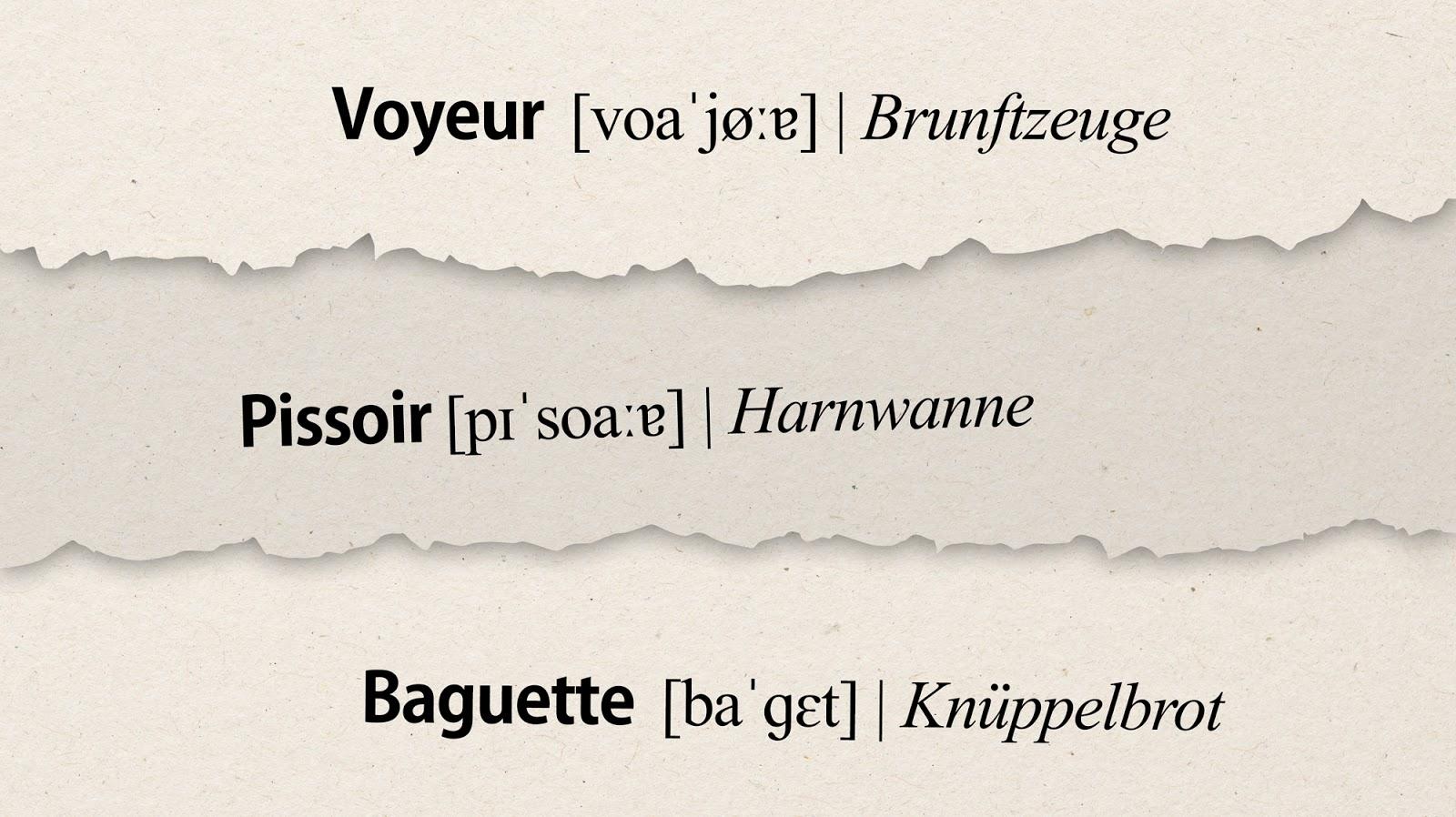 Fremdwörter Aus Dem Französischen