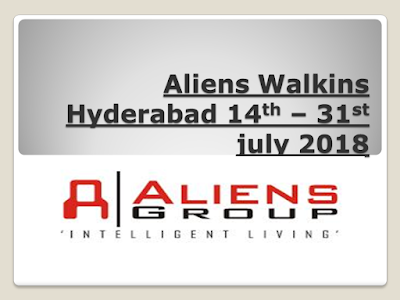 Aliens Developers Pvt Ltd Walkins At Hyderabad For Purchase Executive | 14th - 31st July 2018