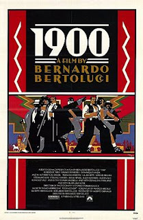 A publicity poster for Bertolucci's acclaimed 1976 epic tale, 1900