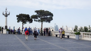 Baku lookout to see all of Baku