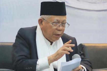 Ma'ruf Amin Sebut Doa Neno Warisman Tak Akan Manjur