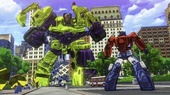 Transformers Devastation PC Full Version Screenshot 1