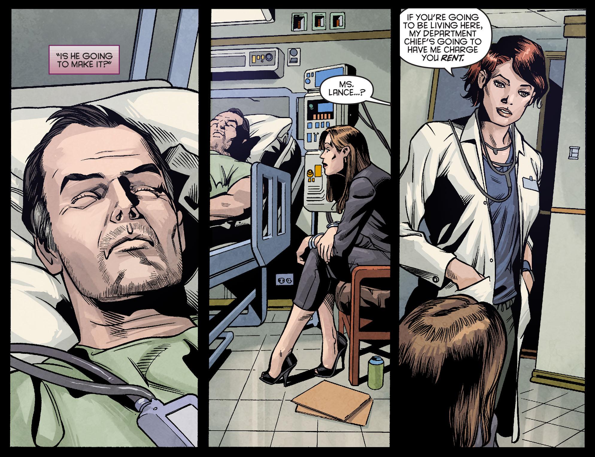 Read online Arrow: Season 2.5 [I] comic -  Issue #2 - 13