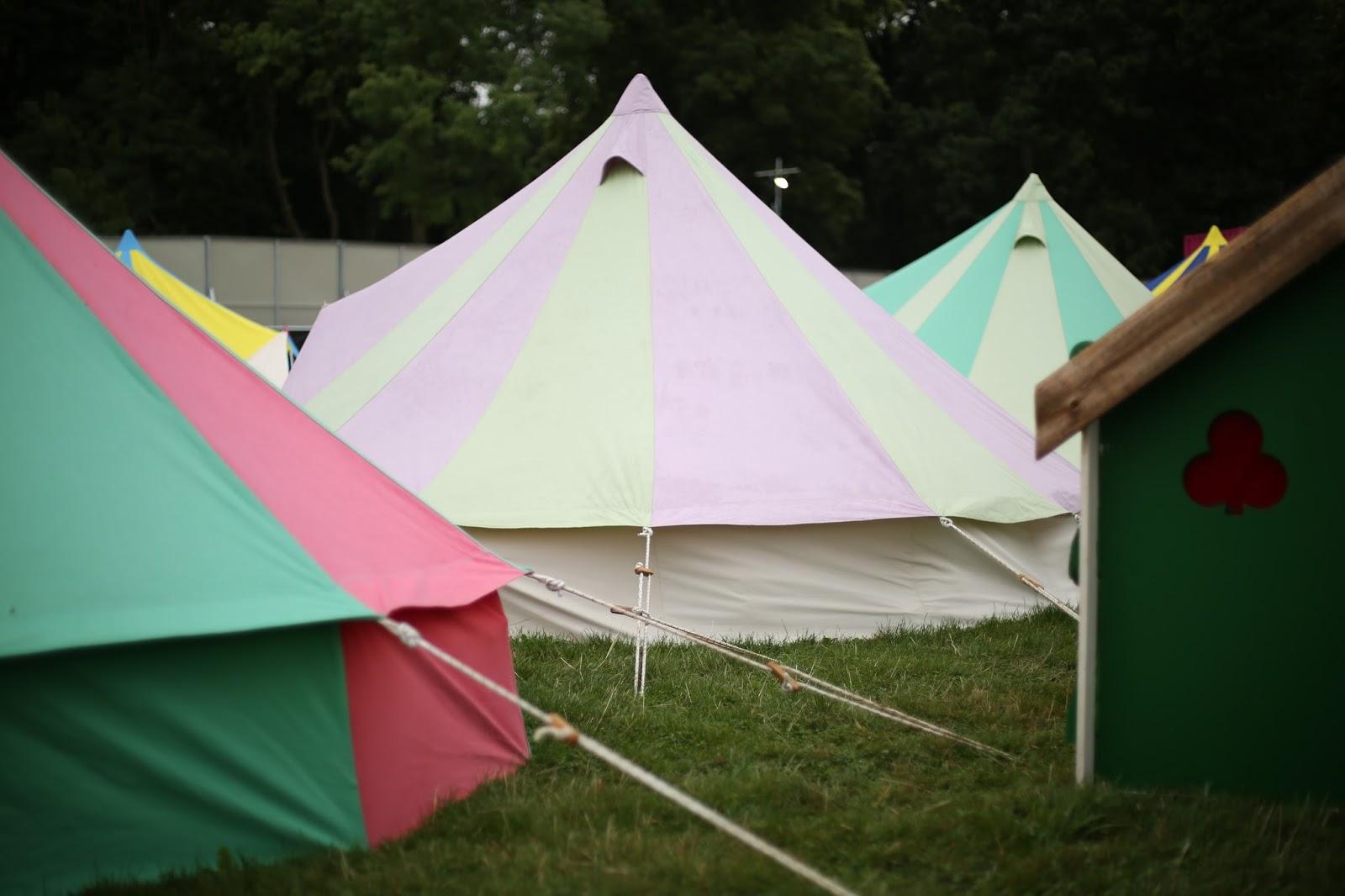 leeds festival glamping