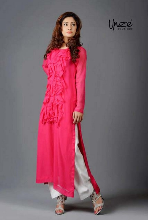 727510bd340 Desi Fashion Magazine  Unze Boutique Latest Spring Summer Collection ...
