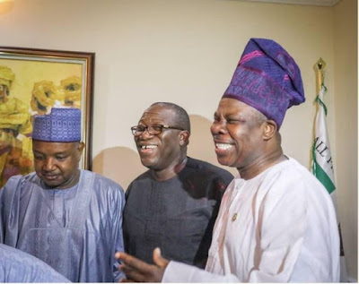Fayemi Spotted Celebrating With Other Governors