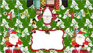 Navidad Divertida: Etiquetas para Candy Bar para Imprimir Gratis.