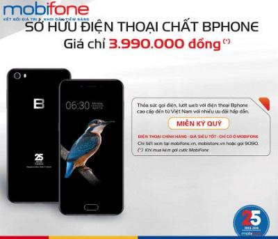 Mobifone bán Bphone với giá sốc