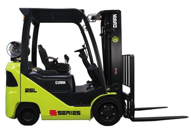 New Clark S-Series LPG/DUALFUEL/ Cushion Lift Trucks S20/25/30/32C