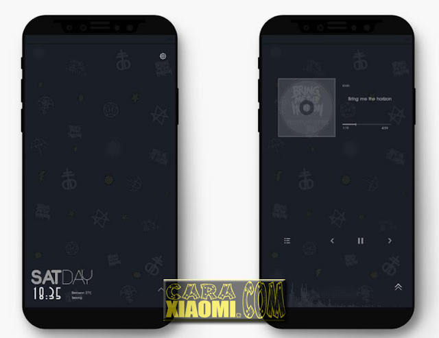 MIUI Theme BMTH Bring Me The Horizon Mtz For Xiaomi
