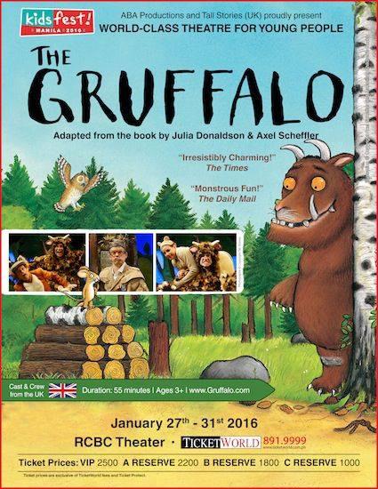 The GRUFFALO - LIVE!