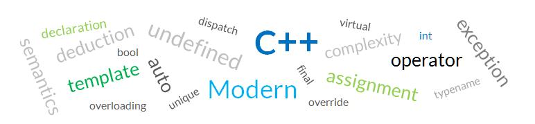 Modern C++
