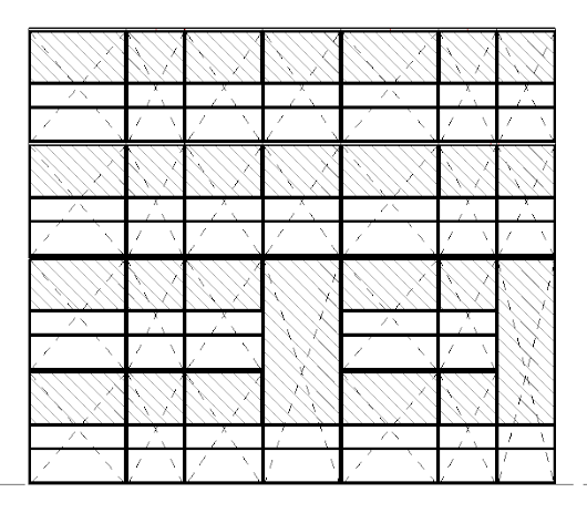 Adding Cross-X Lines to Unitized Panel Families