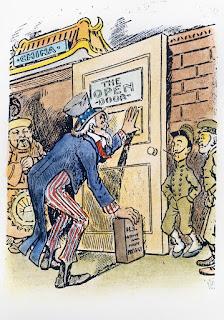 Political Cartoon Analysis: Open Door Policy Political ...