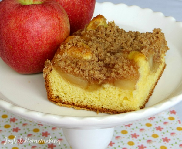 Apple Pie Cake from Joyful Homemaking