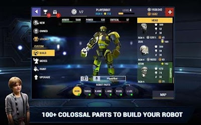 Real steel champions mod apk game