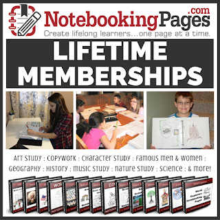 homeschool notebook pages, journaling, notebooking,