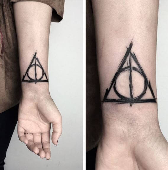 50 Geometric Triangle Tattoos Designs With Meanings 2019 Tattoo