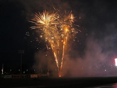 Midland Gluten Free Ballpark Fireworks