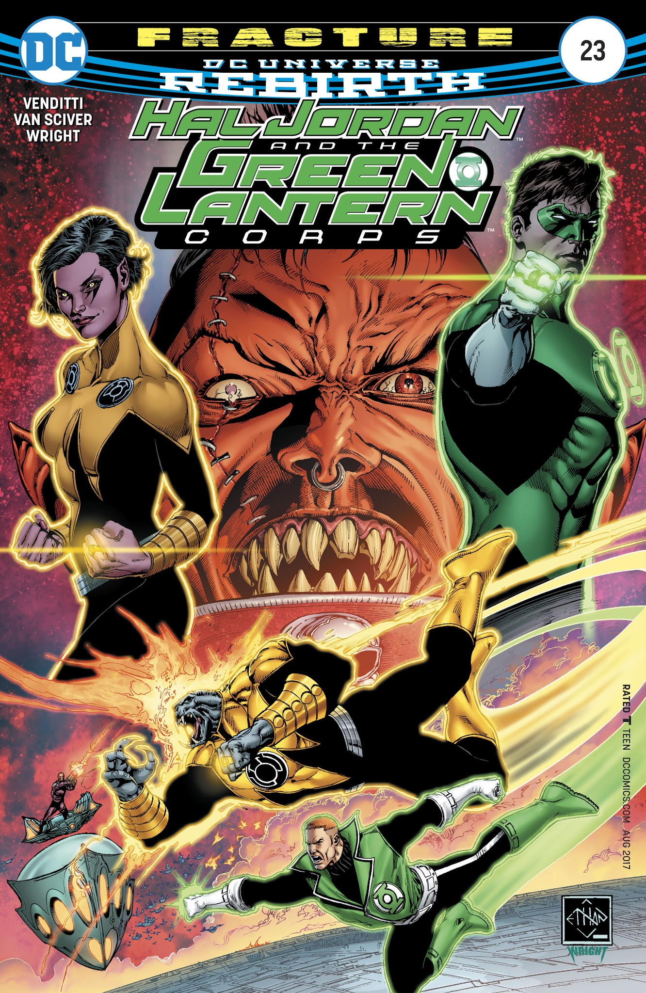 Hal Jordan And The Green Lantern Corps 23 Page 1