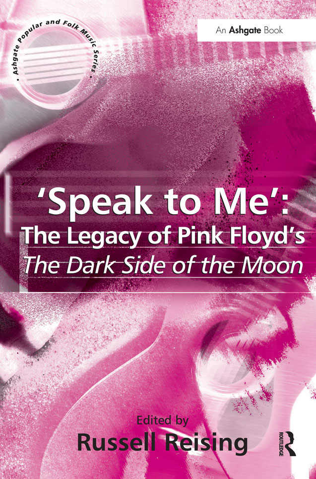 Livro: 'Speak to Me': The Legacy of Pink Floyd's The Dark Side of the Moon.