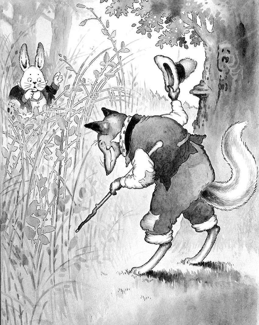 Harrison Cady children's book, animals