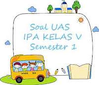 Soal UAS IPA Kelas 5 Semester 1