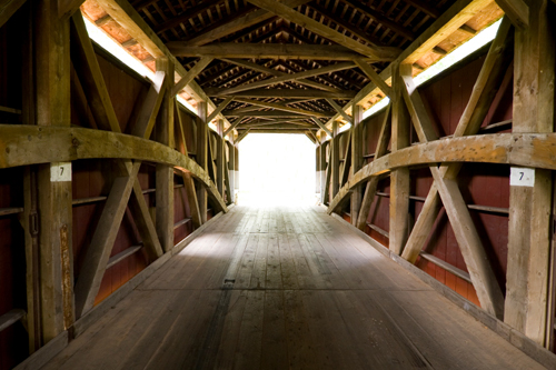 Covered Bridge Truss