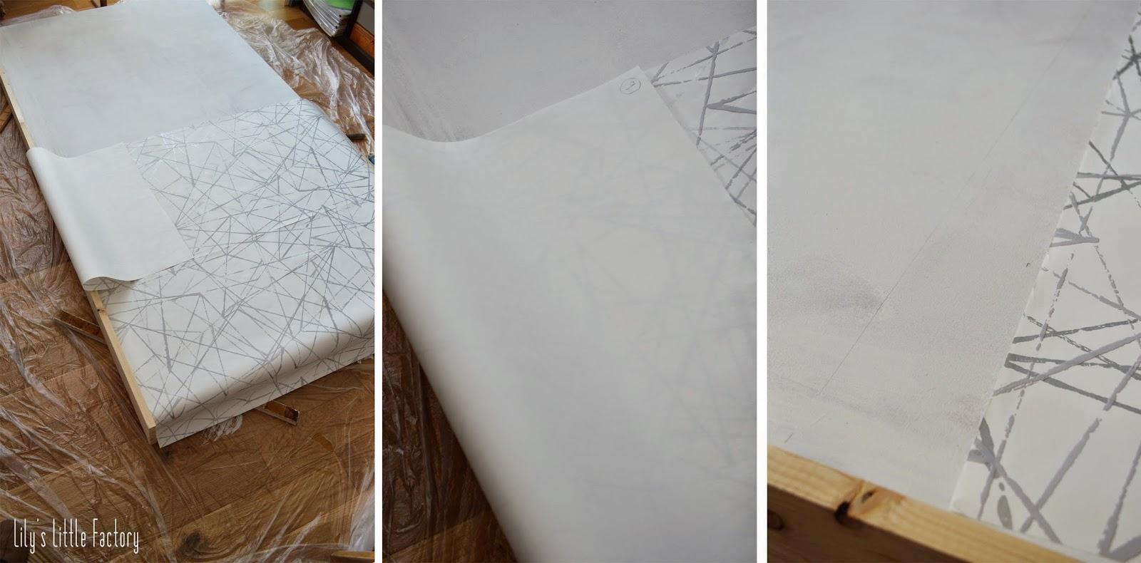 poser du papier peint avec raccord. Black Bedroom Furniture Sets. Home Design Ideas