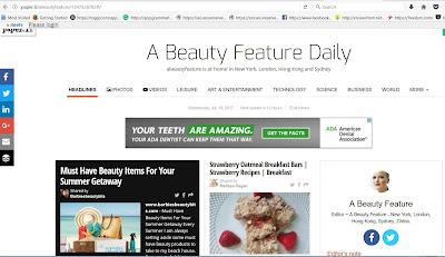 Barbie's Beauty Bits as seen in Beauty Feature