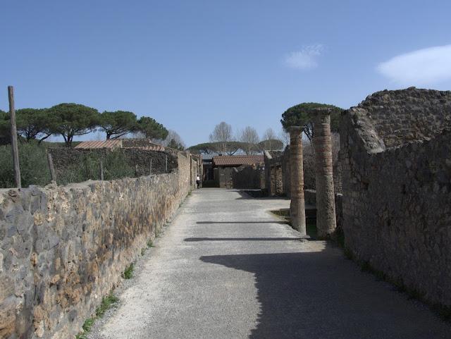 stanowiska archeologiczne Pompeje, jak wyglądają?